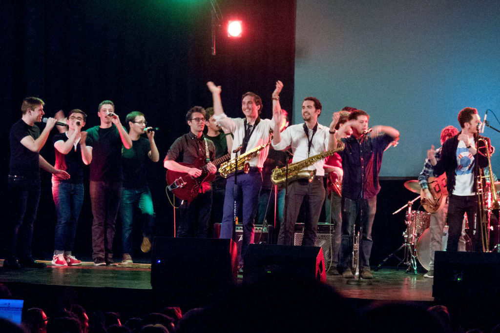 Brass Monkeys Midnight Ramblers Concert 4/16 Photo: Frank White III