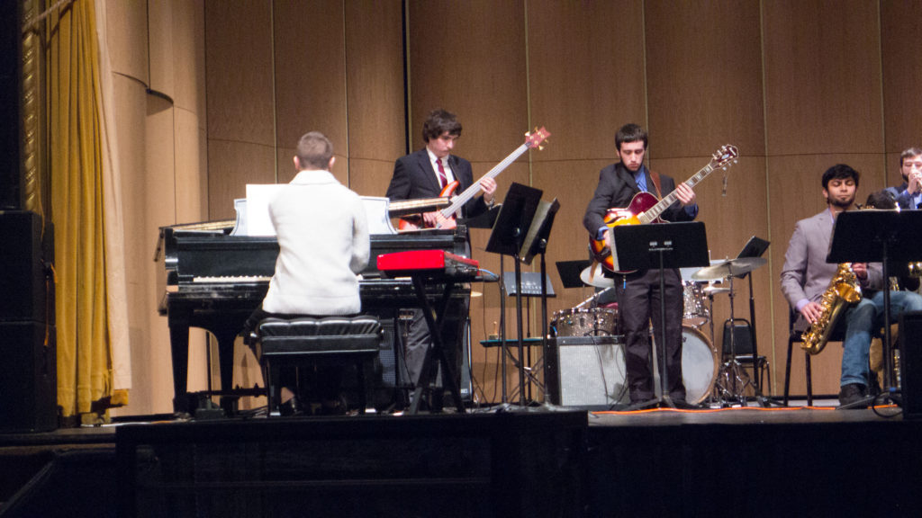 University of Rochester Jazz Ensemble 2/16 Photo: Frank White III